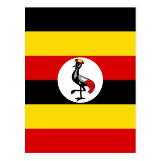 Vlag van Oeganda Briefkaart