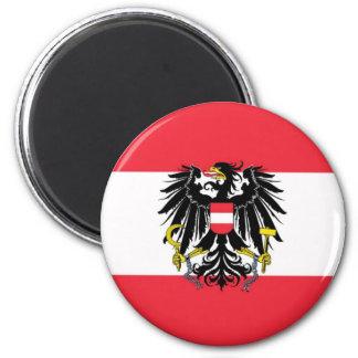 Vlag van Oostenrijk - Flagge Österreichs Magneet