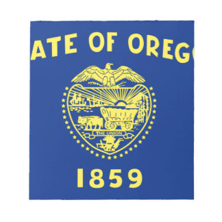 Vlag van Oregon Notitieblok