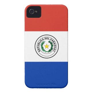 Vlag van Paraguay - Bandera DE Paraguay iPhone 4 Hoesje