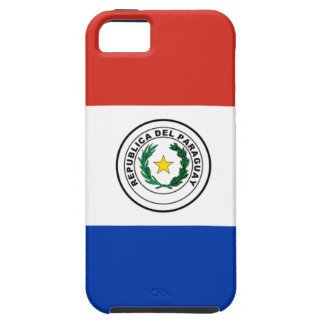 Vlag van Paraguay - Bandera DE Paraguay Tough iPhone 5 Hoesje
