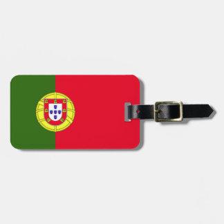 Vlag van Portugal Kofferlabel