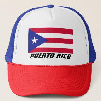 Vlag van Puerto Rico Trucker Pet