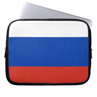Vlag van Rusland - ФлагРоссии - Триколор Trikolor Computer Sleeve