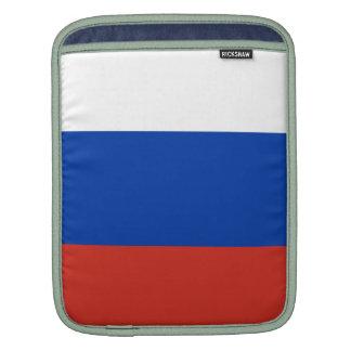Vlag van Rusland - ФлагРоссии - Триколор Trikolor iPad Beschermhoes