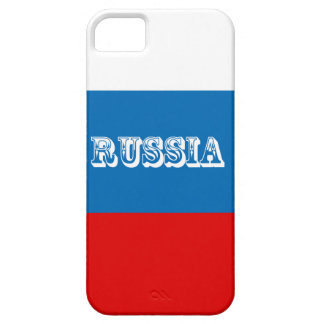 Vlag van Rusland Barely There iPhone 5 Hoesje