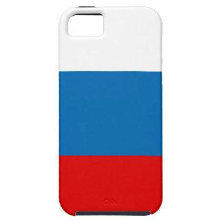 Vlag van Rusland Tough iPhone 5 Hoesje