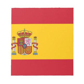 Vlag van Spanje - Bandera DE España - Spaanse Vlag Notitieblok