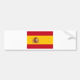 Vlag van Spanje Bumpersticker