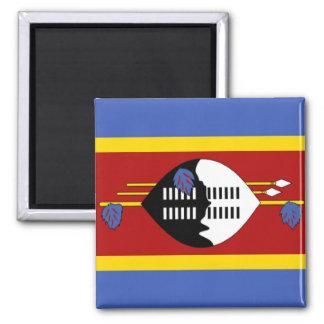 Vlag van Swasiland Magneet
