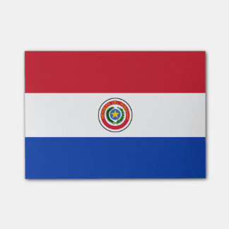 Vlag van van Paraguay post-it®- Nota's Post-it® Notes