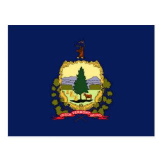 Vlag van Vermont Briefkaart