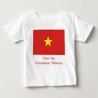 Vlag van Vietnam Baby T Shirts
