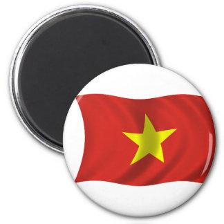 Vlag van Vietnam Koelkast Magneetje