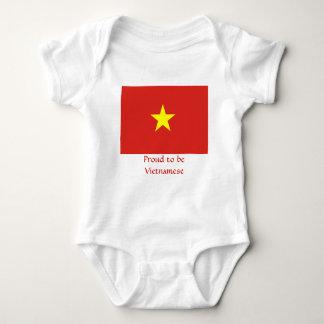 Vlag van Vietnam Romper