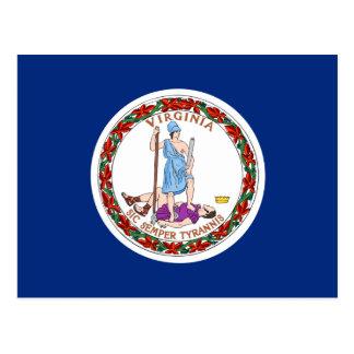 Vlag van Virginia Briefkaart