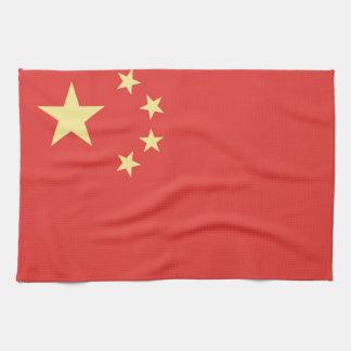 Vlag van Volksrepubliek van China Theedoek