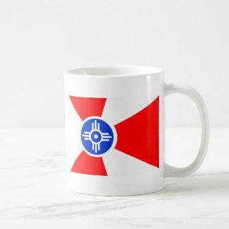 Vlag van Wichita Kansas Koffiemok