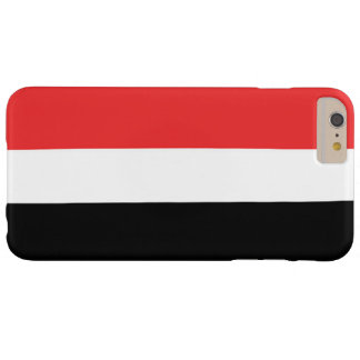 Vlag van Yemen Barely There iPhone 6 Plus Hoesje