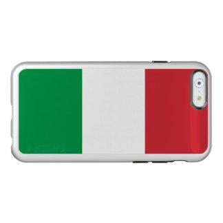 Vlag van Zilveren iPhoneHoesje van Italië Incipio Feather® Shine iPhone 6 Hoesje