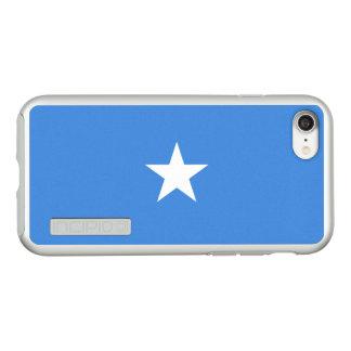 Vlag van Zilveren iPhoneHoesje van Somalië Incipio DualPro Shine iPhone 7 Hoesje