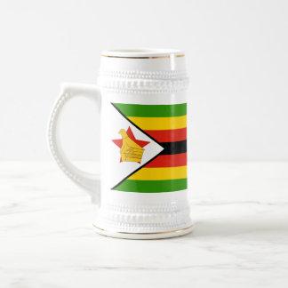 Vlag van Zimbabwe Afrika Bierpul