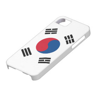 Vlag van Zuid-Korea Barely There iPhone 5 Hoesje