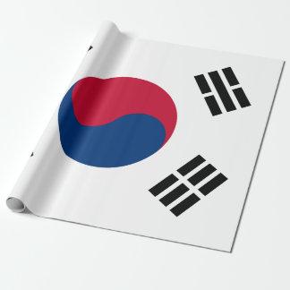 Vlag van Zuid-Korea Cadeaupapier