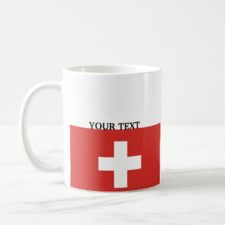 Vlag van Zwitserland Koffiemok