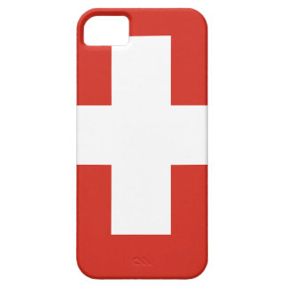Vlag van Zwitserland - Matrijs Nationalflagge der Barely There iPhone 5 Hoesje