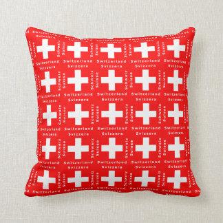 Vlag van Zwitserse Patriottisch van Zwitserland Sierkussen