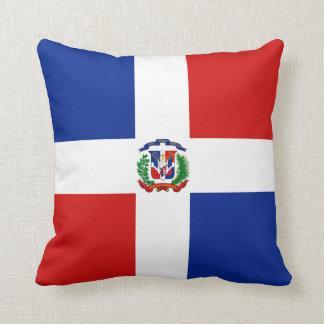 Vlag x van de Dominicaanse Republiek het Sierkussen