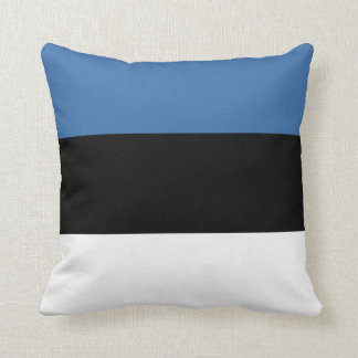 Vlag x van Estland het Hoofdkussen van de Vlag Sierkussen