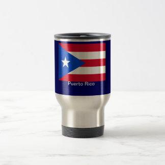 Vlaggen van Puerto Rico Reisbeker