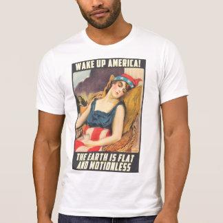 Vlakke Aarde - KIELZOG OP AMERIKA T Shirt