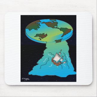 Vlakke Cartoon 7540 van de Aarde Muismat