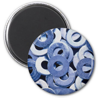 Vlakke wasmachines ronde magneet 5,7 cm