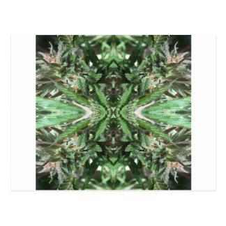 Vlammen 3 van het kristal briefkaart
