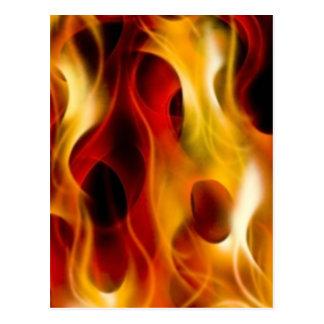 Vlammen Briefkaart