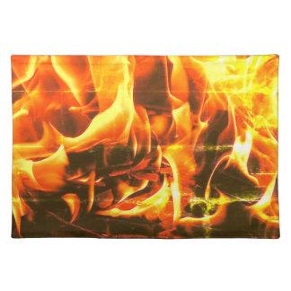 vlammen placemat