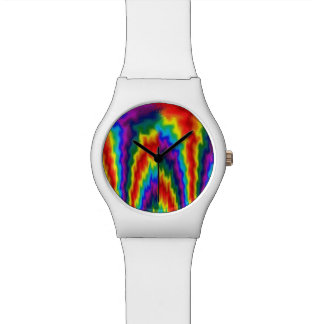 Vlammende Regenboog Horloge