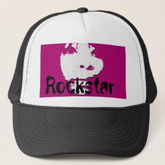 Vlek 1, Rockstar van de inkt Trucker Pet