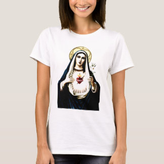 Vlekkeloos Hart van Mary Shirt