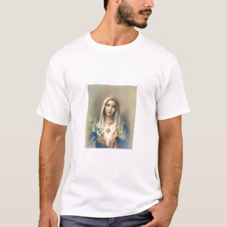 Vlekkeloos hart van Mary T Shirt