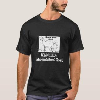 Vlekkelooze Geit T Shirt