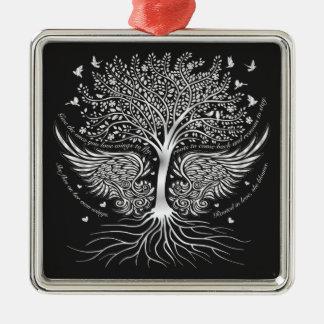 Vleugels om het Ornament van de Kerstboom te