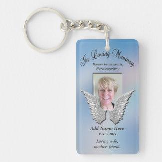 Vleugels van de Engel van de douane voegen de Sleutelhanger