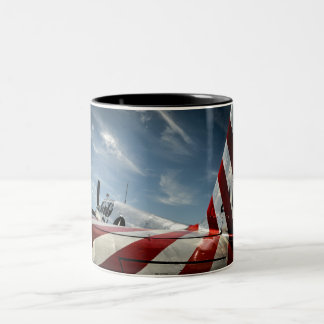 Vleugels van Vrijheid Tweekleurige Koffiemok