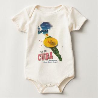 Vlieg aan de Eilanden van de Vakantie van Cuba van Baby Shirt