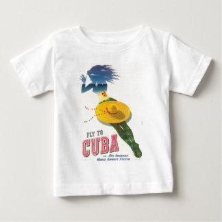 Vlieg aan de Eilanden van de Vakantie van Cuba van Baby T Shirts
